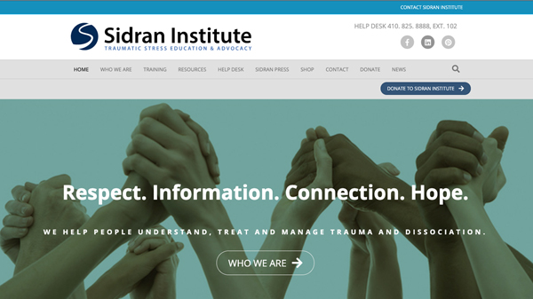 Sidran Institute for Traumatic Stress Education & Advocacy